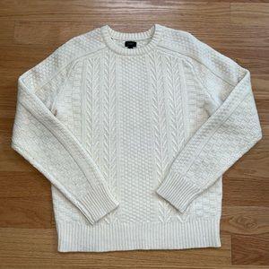 Men's Wool J Crew Sweater